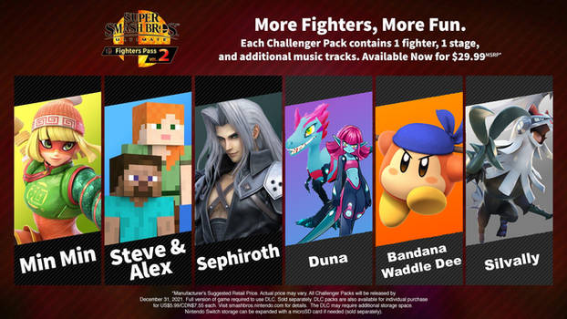 My Hopes For Fighter Pass 2