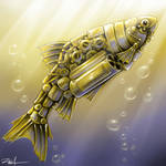 Clockwork fish