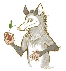 Opossum by Zrcalo-Sveta