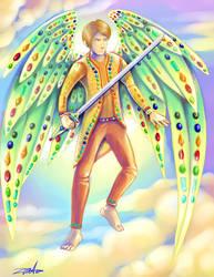 The angel Lucifer by Zrcalo-Sveta