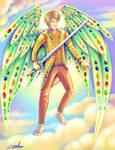 The angel Lucifer