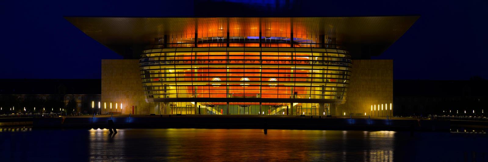 Copenhagen Opera House by wmandra