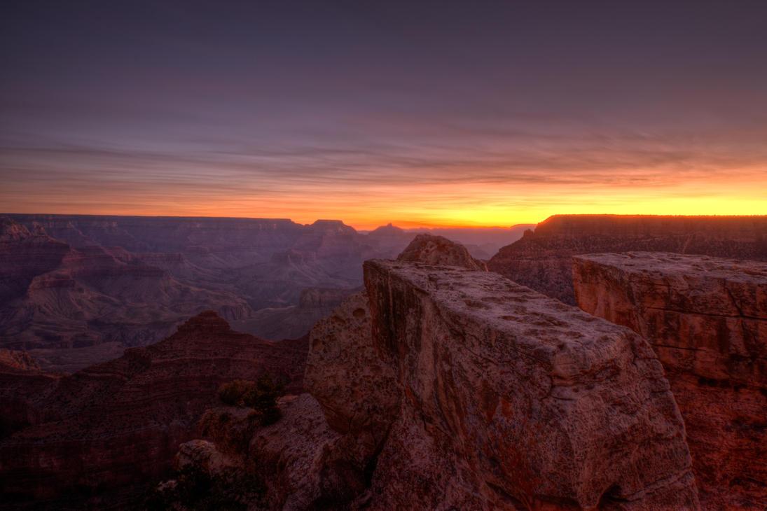 Canyon Sunrise by wmandra