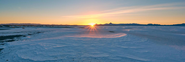 Frozen Sunrise by wmandra