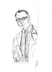Harold Finch by issyrocks1383