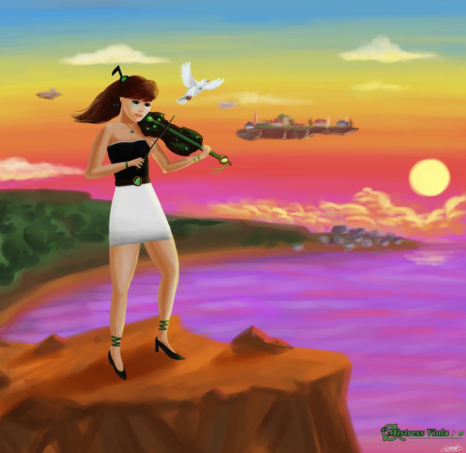 Mistress Viola (Goddesses Project #1) by DRLM
