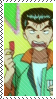 Yusuke gawrble Stamp by DontMooMe