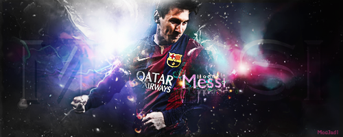 Messi by Mou3ad1-Art