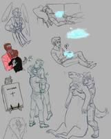 IV | Doodle Dump 6 by shardain