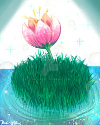 Mystical flower practice