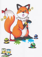 Stupid fox- Stupid Circus by Steph-Sama