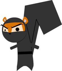 Ninja Squirrel V01 by themichaelbrave
