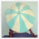 Winter is cominig..Crochet Candy Hat