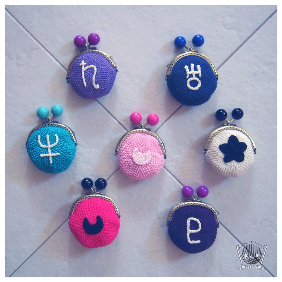 Sailor Moon Crochet Symbols Purses Continue by Tofe-lai on ...
