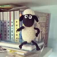 Shaun the Sheep Amigurumi Plush by Tofe-lai
