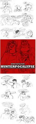 Hunterpocalypse pt 1 by DoodlesInMiddleverse