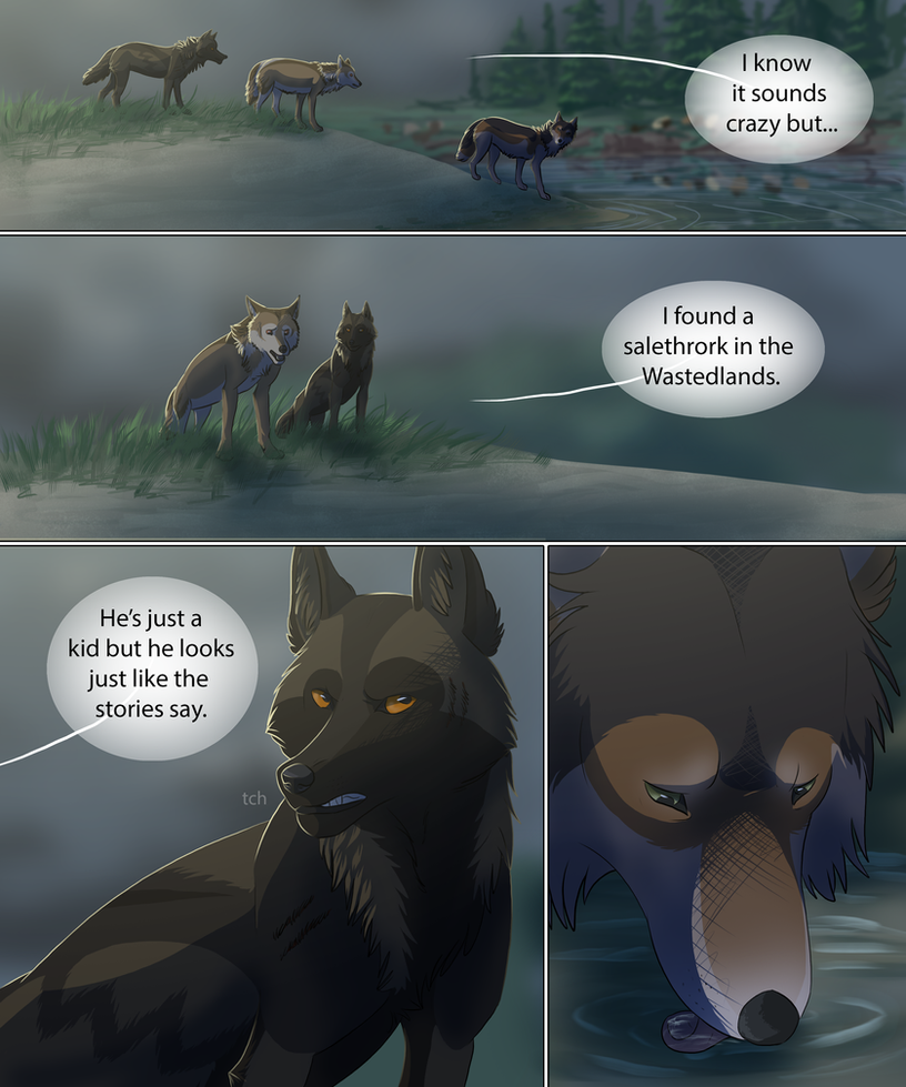 The Night Raiders pg 51 by DoubletheU