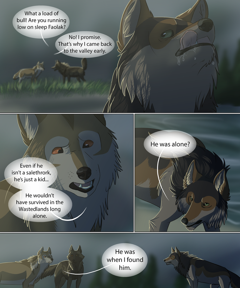 The Night Raiders pg 52 by DoubletheU