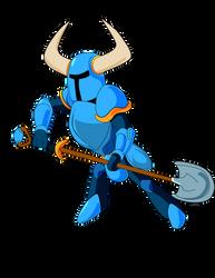 Shovel Knight by WynautWarrior