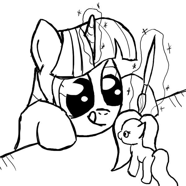 ATG 22: Twilight custom pony by SmockHobbes