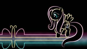 Fluttershy Glow Wallpaper