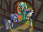 In the care of Lyra and BonBon