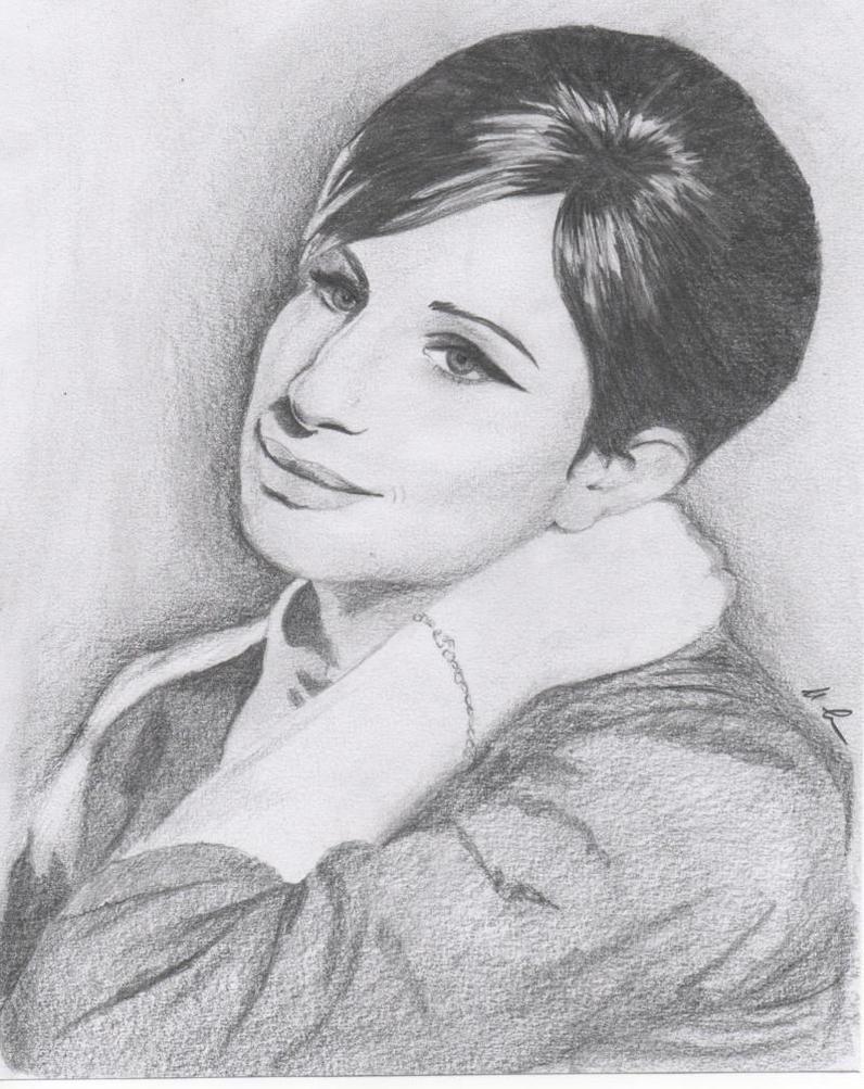 Barbra Streisand by wolf2307