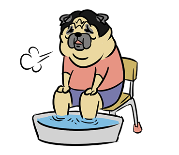 LINE_sticker_japan. fat_Pug_dog.kawaii. by hei-sho