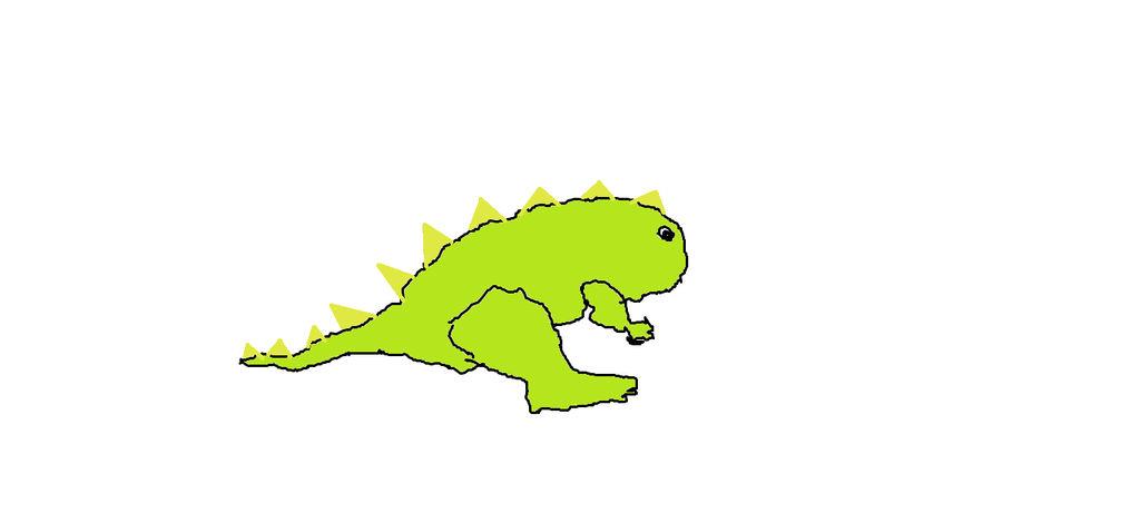 Derp Dino by shadowmoonlove