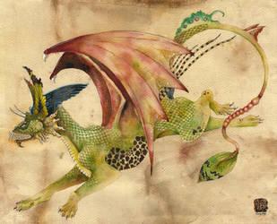 Running Dragon by Chonunhwa