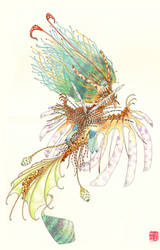 Lionfish Mermaid by Chonunhwa