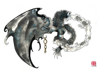 For Sale : Dark valefor - Final Fantasy X by Chonunhwa