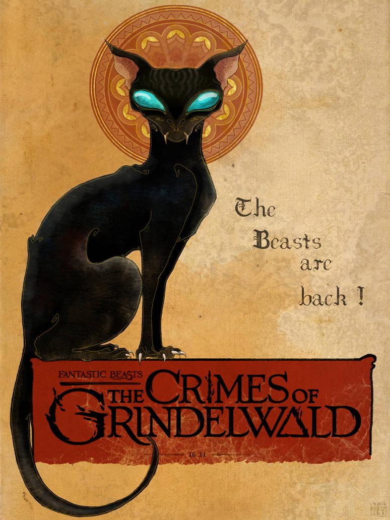 Matagot - Fantastic Beasts 2 poster by Chonunhwa