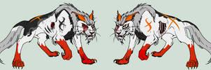 Blood/Death Cat Demon Adopt (Closed) by Sukida-Adopts