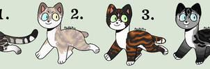 Closed - Embershine Litter #2 by Sukida-Adopts