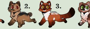 Closed - Rabbitrun Litter #9 by Sukida-Adopts