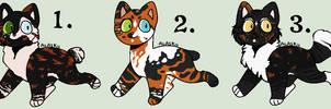 Closed - Embershine Litter #9 by Sukida-Adopts