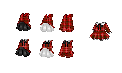Fantage Customs [Free]:Plaid Outfits by Acey-A