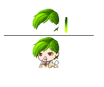 Fantage Customs [Free]:Neat Green Hair by Acey-A