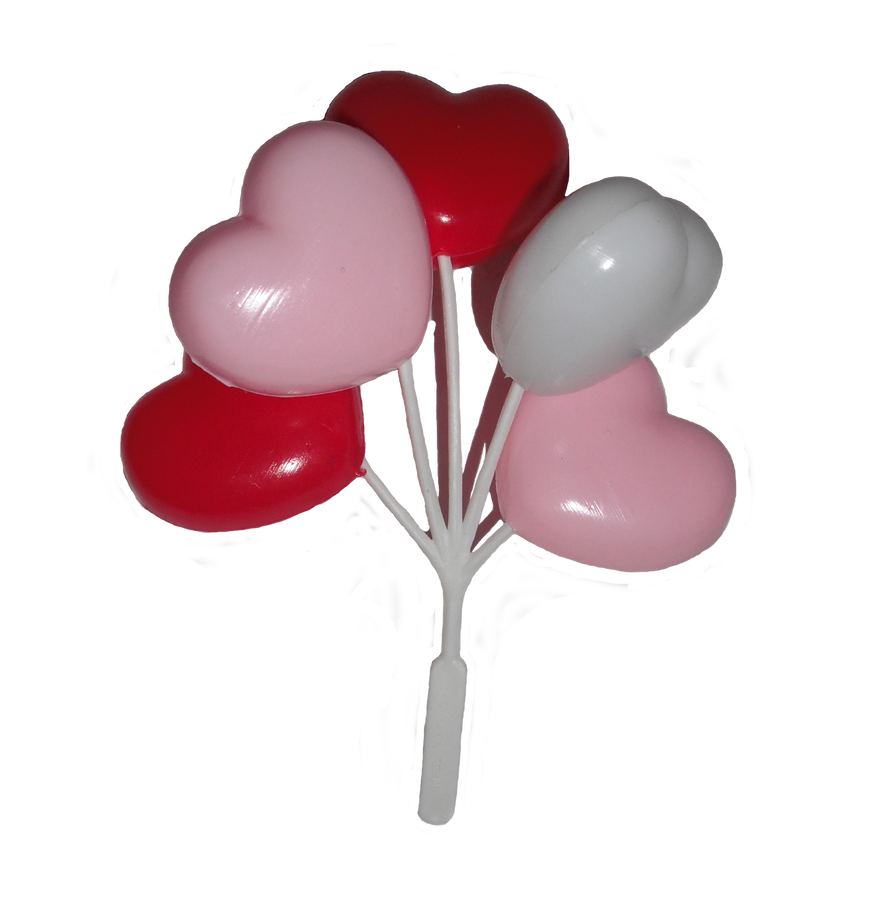 Heart Balloons Stock by DaFearWithin on deviantART