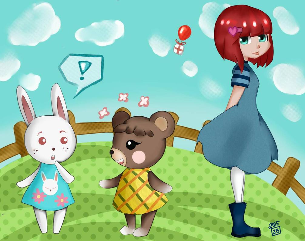 GAMING FAN ART: ANIMAL CROSSING   BabySoftMurderHands.com