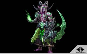 ...Night Elf Demon Hunter...