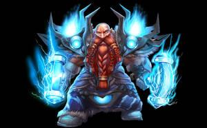 ...Commission: Dwarf Shaman... by ShadowPriest