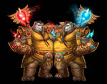...Commission: Pandaren Monks...