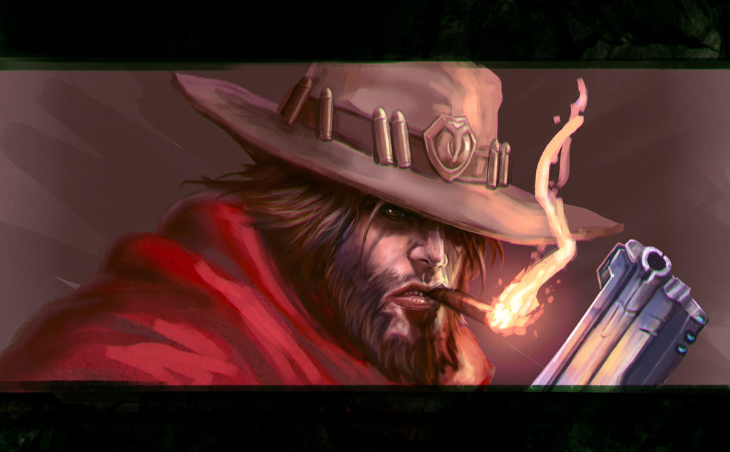 ...Commission: McCree... by ShadowPriest
