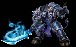 ...Commission: Tauren Death Knight... by ShadowPriest