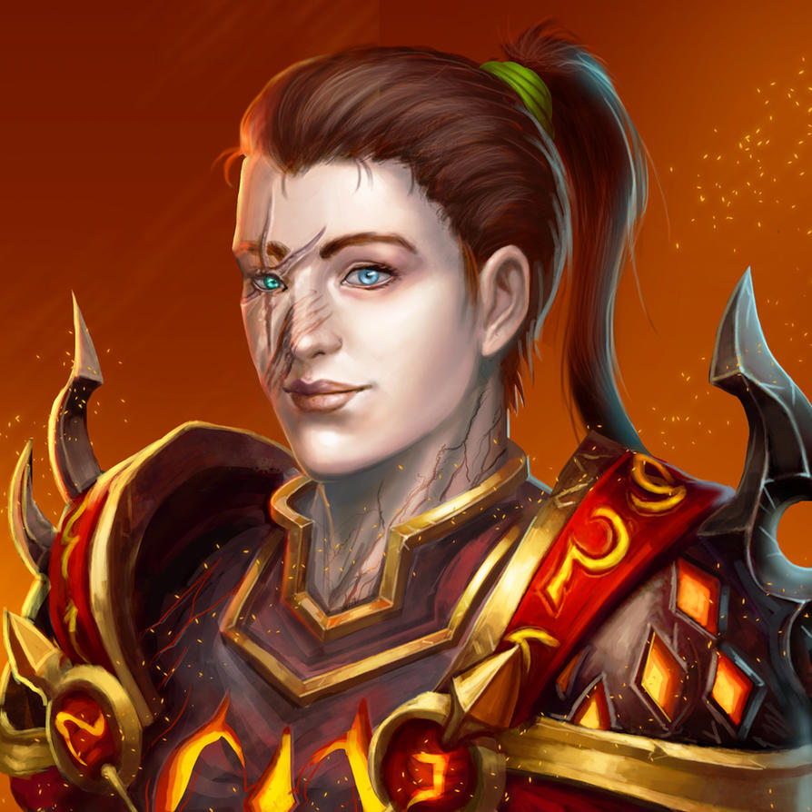 ...Commission: Worgen Warrior (in Human Form)... by ShadowPriest