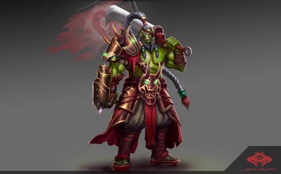 ...Orc Blademaster...