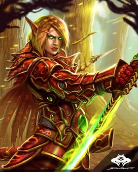 ...Blood Elf Blademaster II...