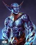 ...Commission: Nightborne Sorcerer...